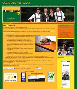Rusticana Homepage