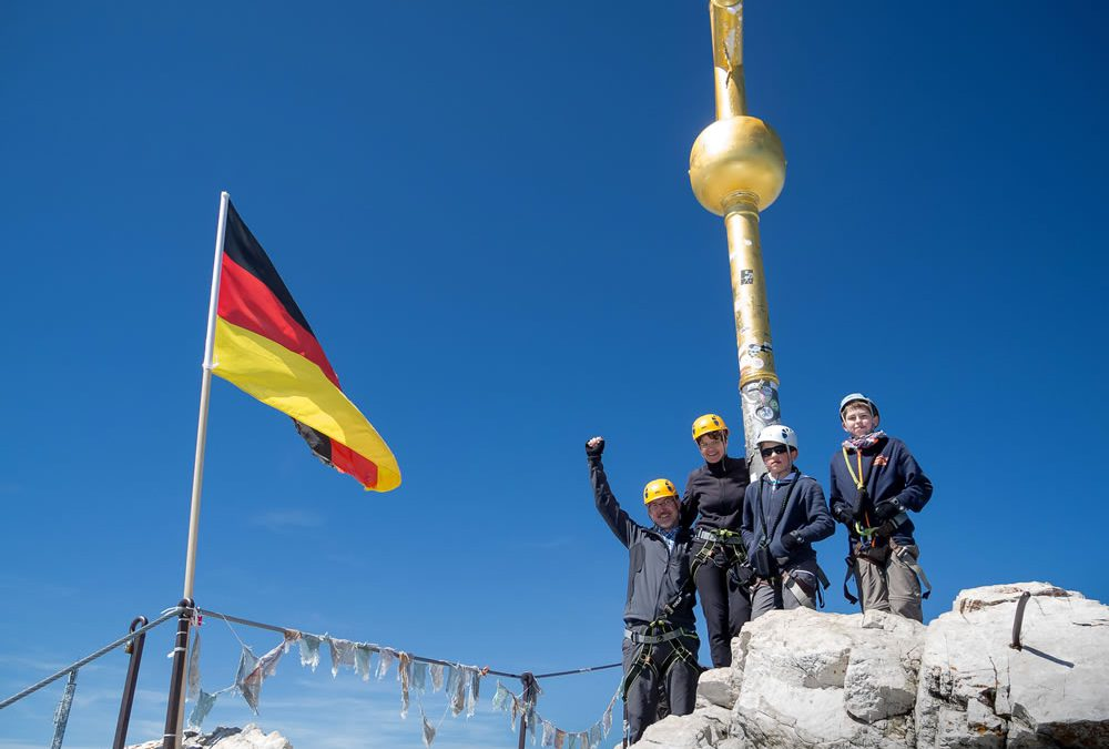 Bergführer auf der Zugspitze